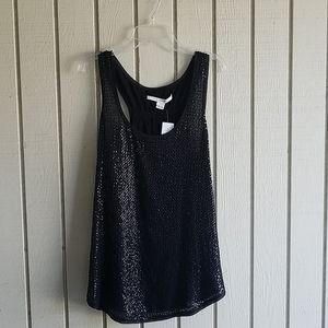 NWT Diane Von Furstenberg dressy sleeveless top